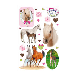 Sticker Pretty Pets Pferde