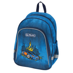 Motivrucksack Race Car, diagon...