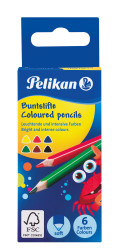 Buntstifte B6K triangular - Ex...