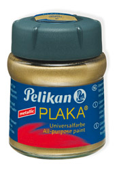 PLAKA Metallic Gold 50 ml