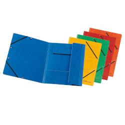 3-flap file with elastics A4 e...