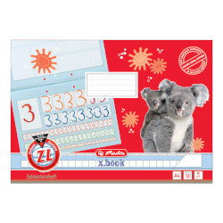 Number book A4 oblong x.book r...