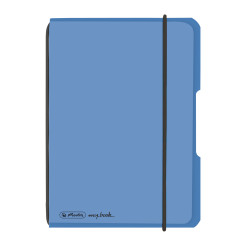 Noteb.flex PP A6/40 squ.blue m...