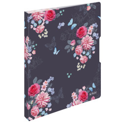 2-ring binder A4 Ladylike Flow...