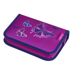 Pencil case Glitter Butterfly