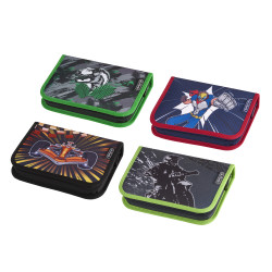 Pencil case Boys Mix I, 4 moti...