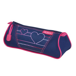 Pencil pouch triangular Heartb...