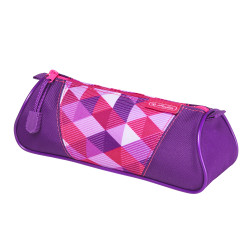 Pencil pouch triangular Pink C...