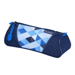 Pencil pouch triangular Blue C...