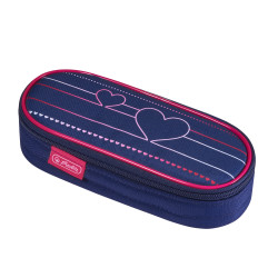 Pencil pouch square case Heart...