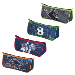 Pencil pouch sport Boys Mix, 4...