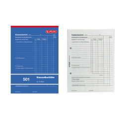 Cash report pad A5 501, cover...