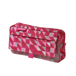 Pencil pouch 2 add. bags, Geom...