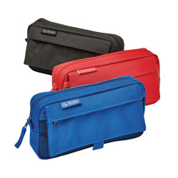 Pencil pouch with 2 additional...