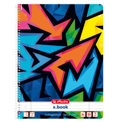 Spral pad A4 x.book 80 sheets...