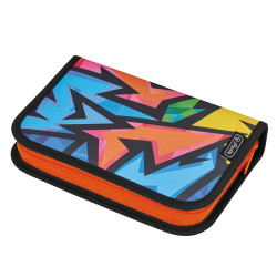 Pencil case with 2 flaps serie...
