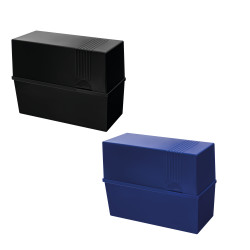 Index card box A5, 2 colours