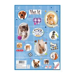 Assorted Motifs Herlitz Pretty Pets V Desk Mat