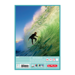 Drawing pad A4 25 sheets, Surf...