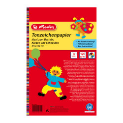 Tinted drawing paper pad 23x33...