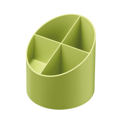 Pen stand round recycling GREE...