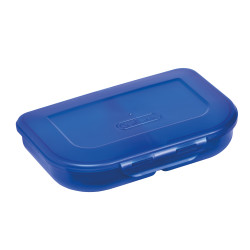 Lunch box blue, diagonal right