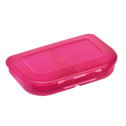 Lunch box pink, diagonal right