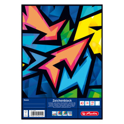 Drawing pad A3 20 sheets Neon...