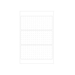Office label white dotted 36 x...
