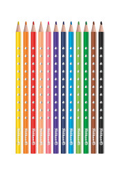 Colored pencils SILVERINO thin...