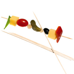 Skewers with decoration