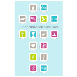 Grußkarte Konfirmation Apps-Sy...