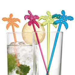"Cocktail stirrer""Palm tree"" in..."