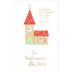 Greeting card confirmation