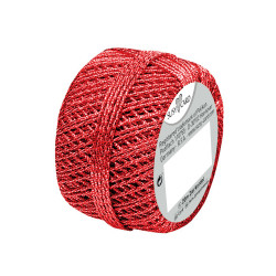 Cordonnet tuft red