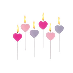 Deco-Candle Mix&Match Heart 6...