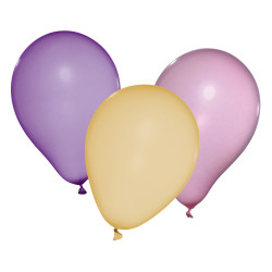 Balloons nacre, 3 colors