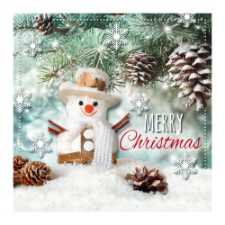Greeting card christmas 3D Sno...