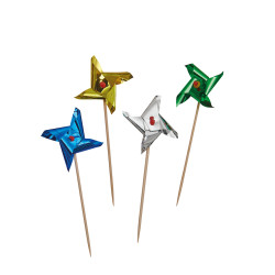 Party Picks Windys metallic, 4...