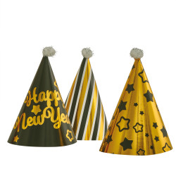 Party hats mini Happy New Year...