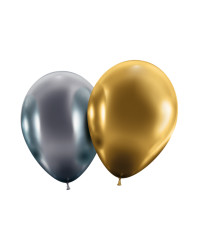 Maxiballoon gold/silver