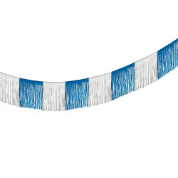 Garland blue/white 10 m