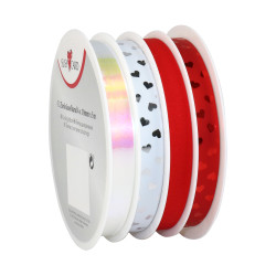 Multi reel poly ribbon 4x 10mm...