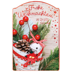 Greeting card christmas decora...