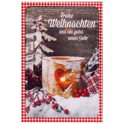 Greeting card christmas wind l...