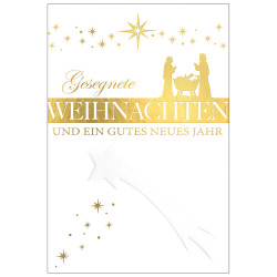 Greeting card christmas blesse...