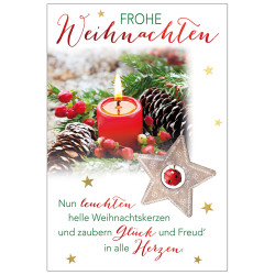 Greeting card christmas time