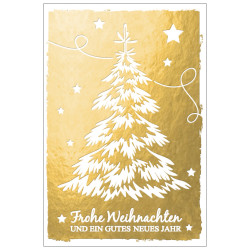 Greeting card christmas tree g...