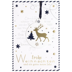 Greeting card christmas poem