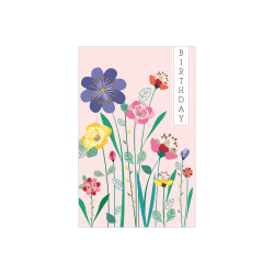 Greeting card Flower Power Cop...